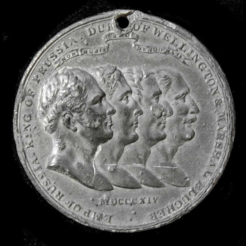 ​  Napoleonic War Pewter Comm. | London Medal Company