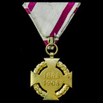 Austria - Empire: Diamond Jubilee Cross for the Armed Forces 1908.