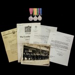 The extremely rare Second World War Manchester Blitz night of 11th March 1941 Voluntary Rescue Pa...