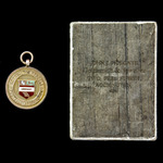 Accrington Schools Football Association in Gold and Accrington Special Constable Service Badge, a...