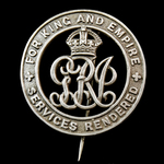 Silver War Badge, reverse numbered 'B226886', as awarded to Private William F. Bryan, Royal Defen...