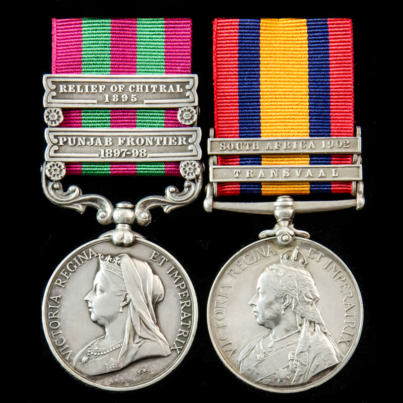India Relief of Chitral 1895 .   London Medal Company