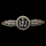Germany, Third Reich: Luftwaffe Bomber Clasp in Silver, makers mark on reverse 'R.S. & S.' for Ri...