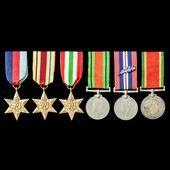 A fine Second World War Mediterranean Theatre Mention in Despatches group awarded to Lance Corpor...