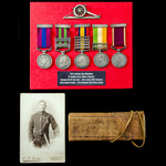A fine South Africa Boer War Royal Horse Artillery Gunner's September 1901 Distinguished Conduct ...