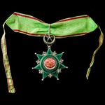 Turkey - Ottoman Empire: Order of Osmanieh, 3rd Class, silver, and enamels, complete with shorten...