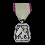 Belgium: Air Defence Medal 1939-1945, 2nd Class in Silver. Scarce.