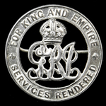 Silver War Badge, reverse numbered '44715' as awarded to Private Charles Peacock, Lincolnshire Re...