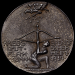 Germany - Imperial: First World War Medal Commemorating the War Donation for FLAK Air Defences fo...
