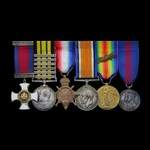 The exceptional and unique combination Great War Western Front January 1918 Distinguished Service...