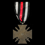 Germany - Imperial: Honour Cross 1914-1918 with Swords for Combatants, reverse maker marked 'DG' ...