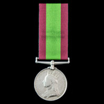 Afghanistan Medal 1878-1880, no clasp, awarded to Private R. Evans, 2nd Battalion, 15th York East...