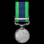 India General Service Medal 1908-1935, 1 Clasp: North West Frontier 1930-31, awarded to a Private...