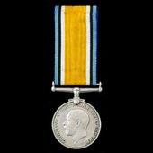 British War Medal 1914-1919, awarded to Reverend H.H. Thompson, a Methodist who saw service with ...