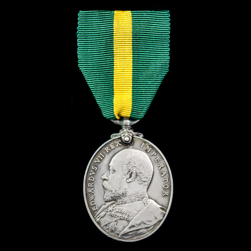 Territorial Force Efficiency . | London Medal Company