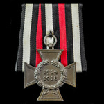 Germany - Imperial: Honour Cross 1914-1918 without swords for non-combatants, maker marked '43 R....