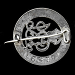 Silver War Badge, reverse numbered: 'B281188', as awarded to Private G.H. Cotterell, Training Res...