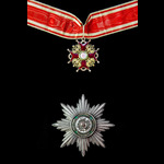 Russia - Imperial Russia: Order of Saint Stanislaus 2nd Class Civil Division without Swords set o...
