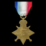 1914-1915 Star awarded to Private F.G. Haynes, Gloucestershire Regiment, later Royal Engineers, w...