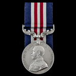 Great War 1st Salford Pals Western Front German Spring Offensive single Military Medal awarded to...