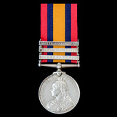 Queen's South Africa Medal 1899-1902, 3 Clasps: Transvaal, South Africa 1901, South Africa 1902, ...