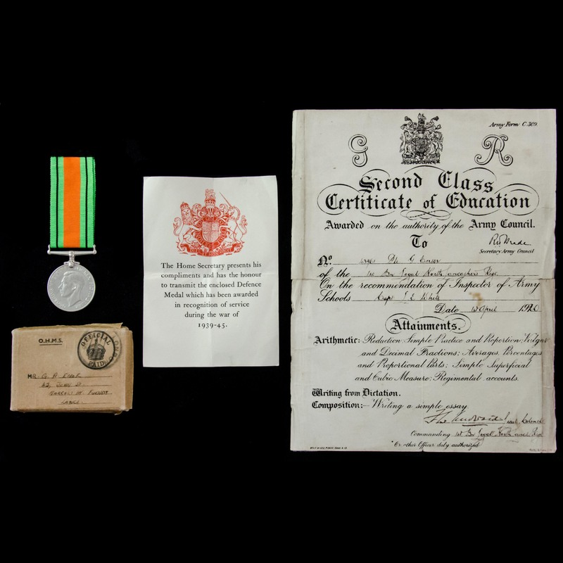Defence Medal 1939-1945, with. | London Medal Company