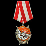 Russia – Soviet: A Long Service award of the Order of the Red Banner to Colonel of the Engineer C...