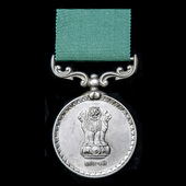 India - Republic of: Indian Army Long Service and Good Conduct Medal, officially impressed naming...