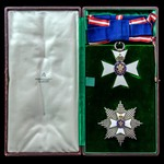 Knight's Grand Cross of the Royal Victorian Order, G.C.V.O set of insignia, comprising silver-gil...