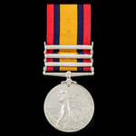 Queen's South Africa Medal 1899-1902, 3 Clasps: Cape Colony, Orange Free State, Transvaal awarded...
