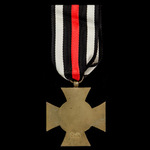 Germany - Imperial: Honour Cross 1914-1918 without swords for non-combatants, maker marked '0.14'...
