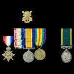 Great War German South West Africa and Second World War medals to the two Arter brothers, one of ...