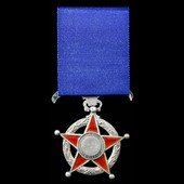Chile - Republic of: Order of Merit, 5th Period (1929 to present), Knight Grade, silver with red ...