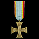 Germany – Imperial – States: Mecklenburg-Schwerin: Military Merit Cross 2nd Class, on Combatants ...