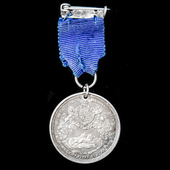 Natal Coronation Medal 1902, 29 mm middle size, unnamed as issued.