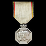 ​  Belgium: Commemorative Medal for 100 Years of Independence 1830-1930.