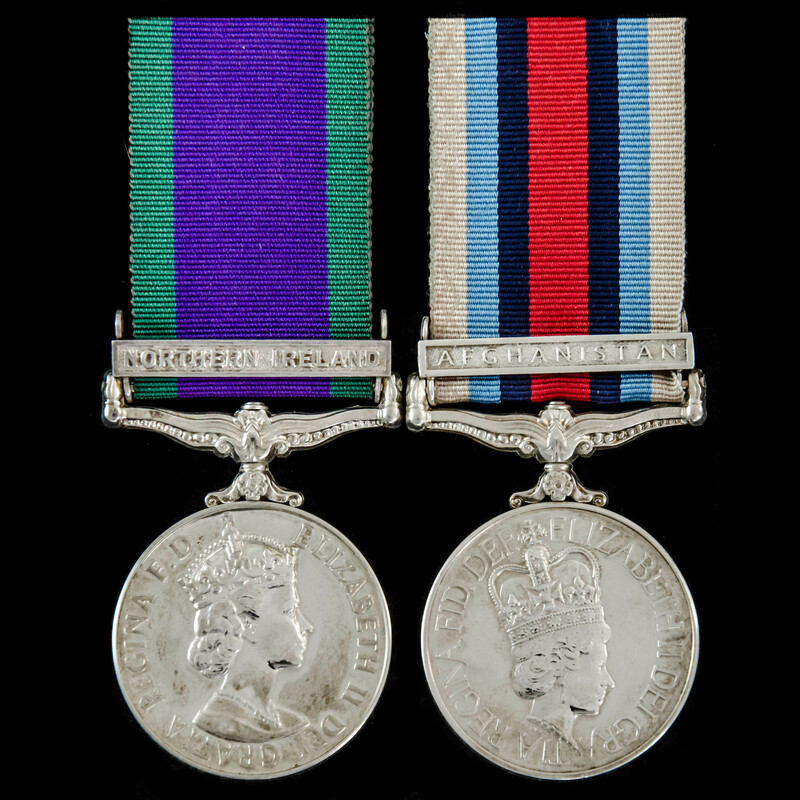 Northern Ireland and Afghanis. | London Medal Company