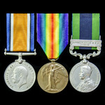 A regimentally scarce Great War Mesopotamia and Third Afghanistan War 1919 group awarded to Priva...