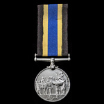 A Sudan Defence Force General Service Medal, silver, unnamed as issued.