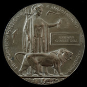 Great War Battle of Gaza Memorial Plaque named to Reginald Charles Dell, a Private who saw servic...