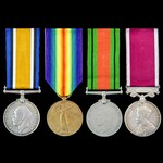 Great War and Second World War Home Front and long service group awarded to Private later Corpora...