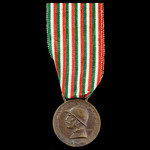Italy - Kingdom of: Commemorative Medal for the War of 1915-1918, by Sacchini of Milan.