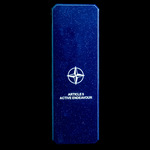 Nato Medal for Article 5 - Active Endeavour, with original box of issue, and tunic ribbon bar wit...