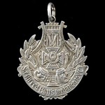 A fine and rare Badge for Sir Alfred Butt's Invitation to Victoria Cross holder's, as issued in 1...