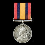 A Queen's South Africa Medal 1899-1902, no clasp, awarded to Corporal W.P. Henrey, Craddock Town ...