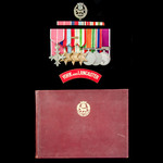 Second World War North Africa 1st Army and Italian Campaign Battalion Quartermaster's Order of th...