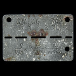 Germany - Third Reich: Second World War Prisoner of War in Germany identity disc, issued to a pri...