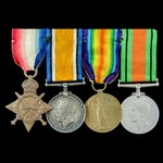 Great War Western Front and Second World War Home Guard group awarded to Private R. Lambert, 7th ...