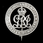 Silver War Badge, reverse numbered '360362' awarded to Private H.A. Whittingham, King's Royal Rif...