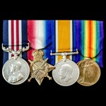 Great War Battle of the Hundred Days October 1918 Military Medal group awarded to Private E. Laws...